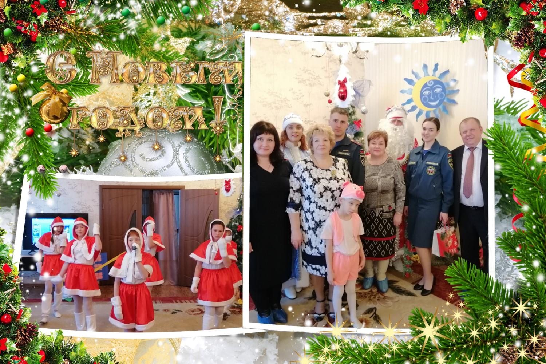 Новогодний праздник для детей «Новый год у ворот»