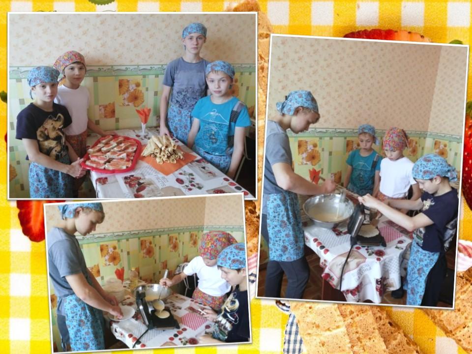 Мастер-класс по приготовлению вафель