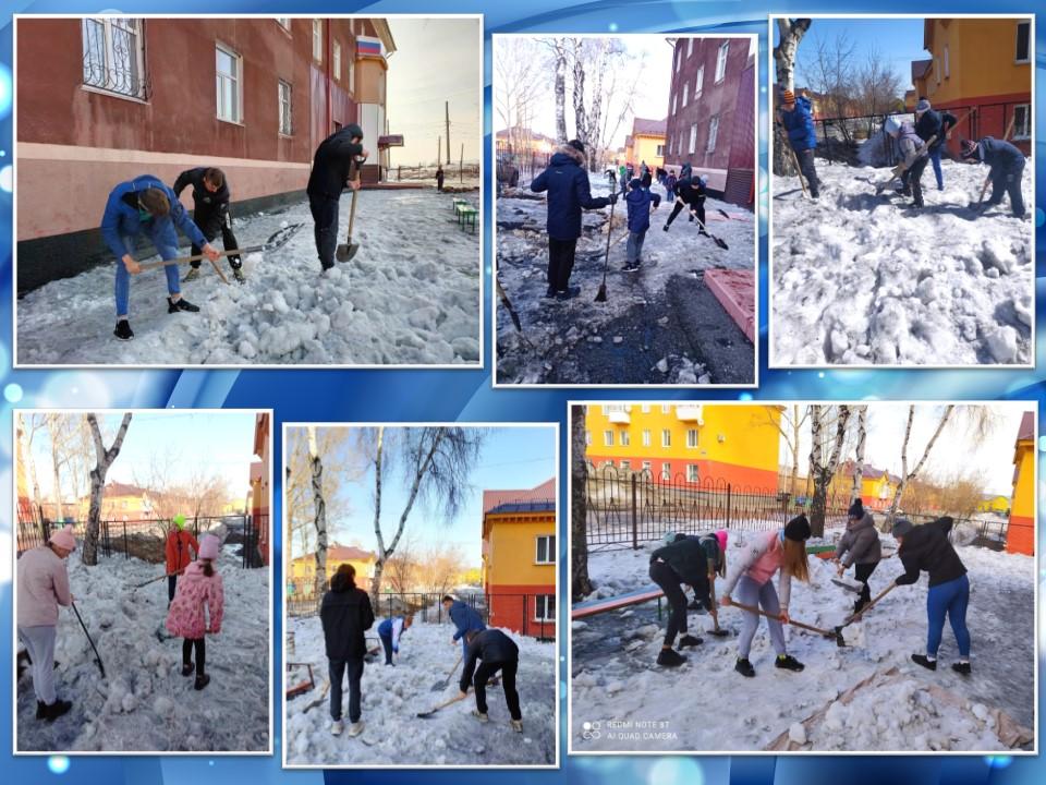 Борьба со снегом продолжается